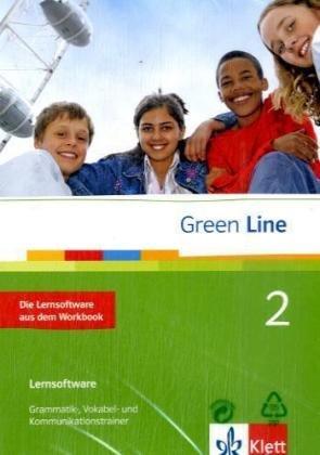 Green Line, Neue Ausgabe für Gymnasien, Bd.2 : Klasse 6, Die Lernsoftware aus dem Workbook, 1 CD-ROM Grammatik-, Vokabel- und Kommunikationstrainer. Einzelplatzlizenz. Windows 98, ME, NT, 2000, XP, Vista