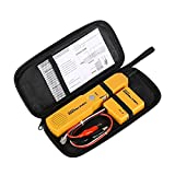Circuit Breaker Finder Wire Tracer Electrical Cable Tester,Tone Generator and Probe Kit with Alligator Clips&RJ11 Plug,Ethernet Network Continuity Tester Telephone Line Automotive Circuit Tracer Tools