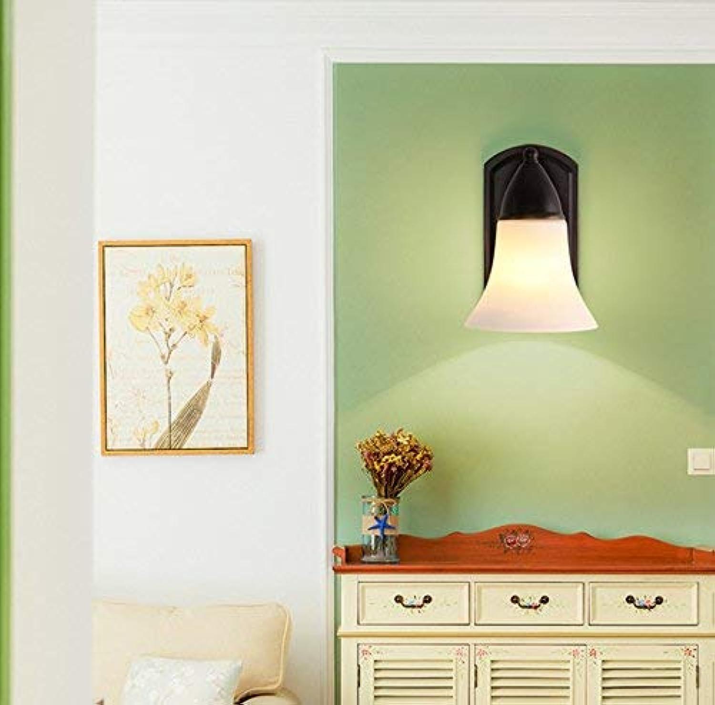 YLCJ Wandleuchten Amerikanische LED Vorne Des Spiegels Badezimmerwandleuchte, Kreative Hotelglas Wandleuchten, Flurlampe Am Abend (Edition  ON-110V)