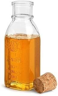 Nakpunar 8 oz Honey Muth Bottle with cork closure