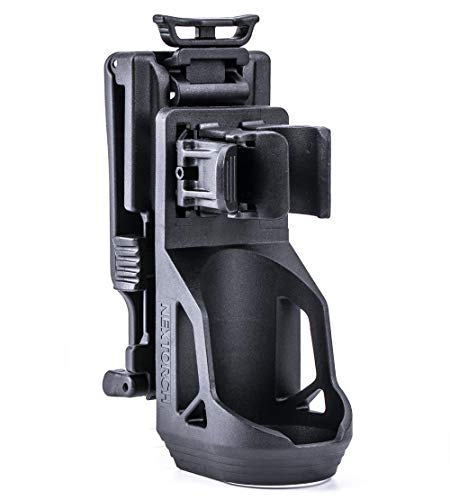 NEXTORCH Tactical Taschenlampen Holster V51-360 Grad drehbar, Schnellverschluss, Gürtelclip
