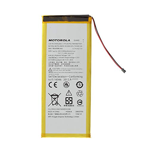 Batteria interna GA40 3000 mAh compatibile con Motorola Moto G4 / G4 Plus XT1625 XT1622