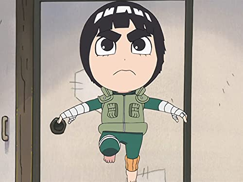 Rock Lee, ein Ninja, der kein Ninjutsu kann / Rock Lees ewiger Rivale: Naruto
