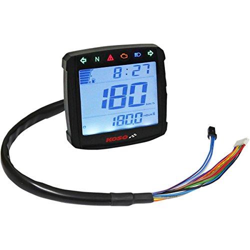 DMS Sporting GMBH KOSO 360-368 digital speedometer black XR-S 01 with German ABE.