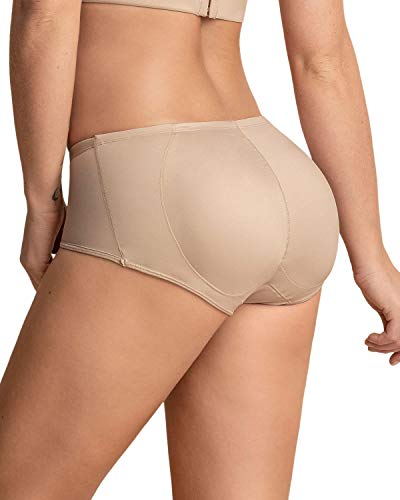 LEONISA Damen PANTY MIT PO-PUSH-UP, Braun (Piel), Gr. Medium