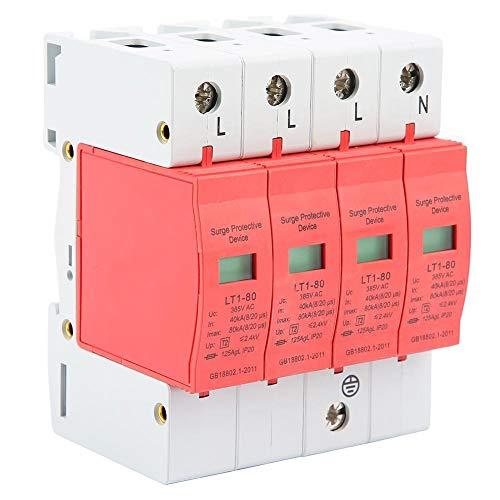Nitrip 4P 40-80KA Dispositivo de protección contra sobretensiones de baja tensión de la casa LT-40/80