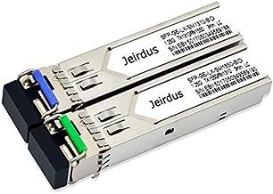 for Cisco 1Pair 3KM GLC-BX-U and GLC-BX-D 1.25G BIDI WDM SFP Module Transceiver Simplex LC 1310/1550 nm