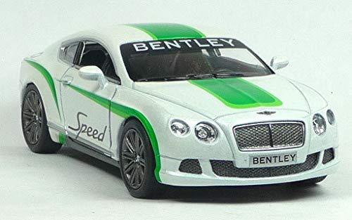 Kinsmart Bentley Continental GT Speed  Rallye Modelo de Coche 1:38 Escala (13 cm) Puertas de Apertur