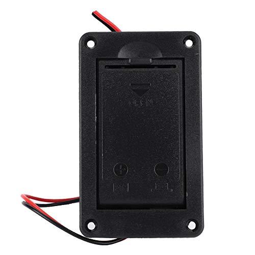 9V Batteriefach Aktiv Pickup Batteriefach Batteriehalter Schutzhülle für die meisten E-Gitarren Musikalische Teile Universal