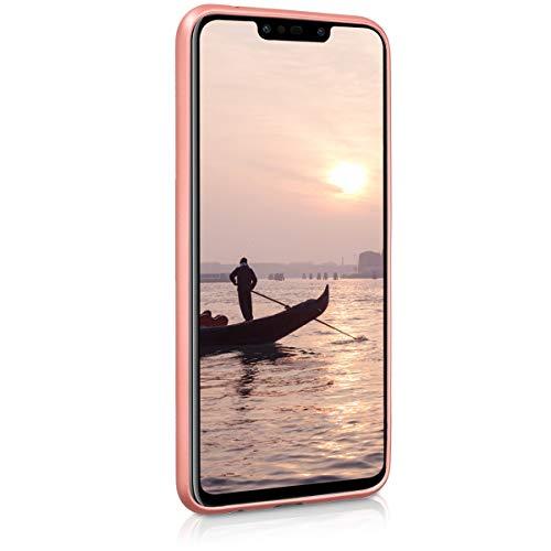 kwmobile Huawei P Smart+ (2018) / Nova 3i Hülle - Handyhülle für Huawei P Smart+ (2018) / Nova 3i - Handy Case in Metallic Rosegold - 2