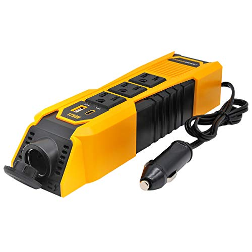 PowerDrive Updated 175 Watt Power Strip Inverter
