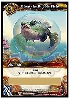 WoW TCG 1 X Bloat The Bubble Fish - Loot Card - Unscratched - Unscratched Wow Loot Cards