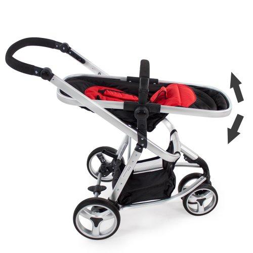 TecTake 3 en 1 Poussette Canne de Voyage Voiture d'Enfants Baby Confort Jogger - diverses couleurs...
