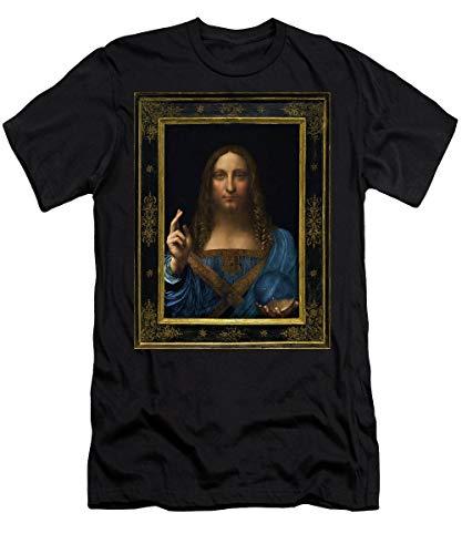 Salvator Mundi - Digital Restored Edition T-Shirt - T Shirt for Men And Woman.
