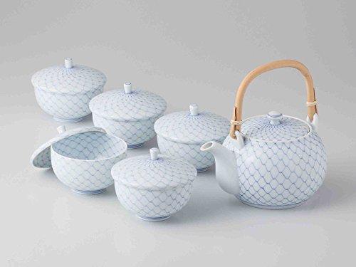 Buy Bargain TOKYO MATCHA SELECTION - [Premium] Hasami Porcelain : KORIN - Kyusu tea pot & 5 Yunomi t...