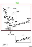 HERTH+BUSS JAKOPARTS J3102140 Brake Master Cylinder 47201-13110