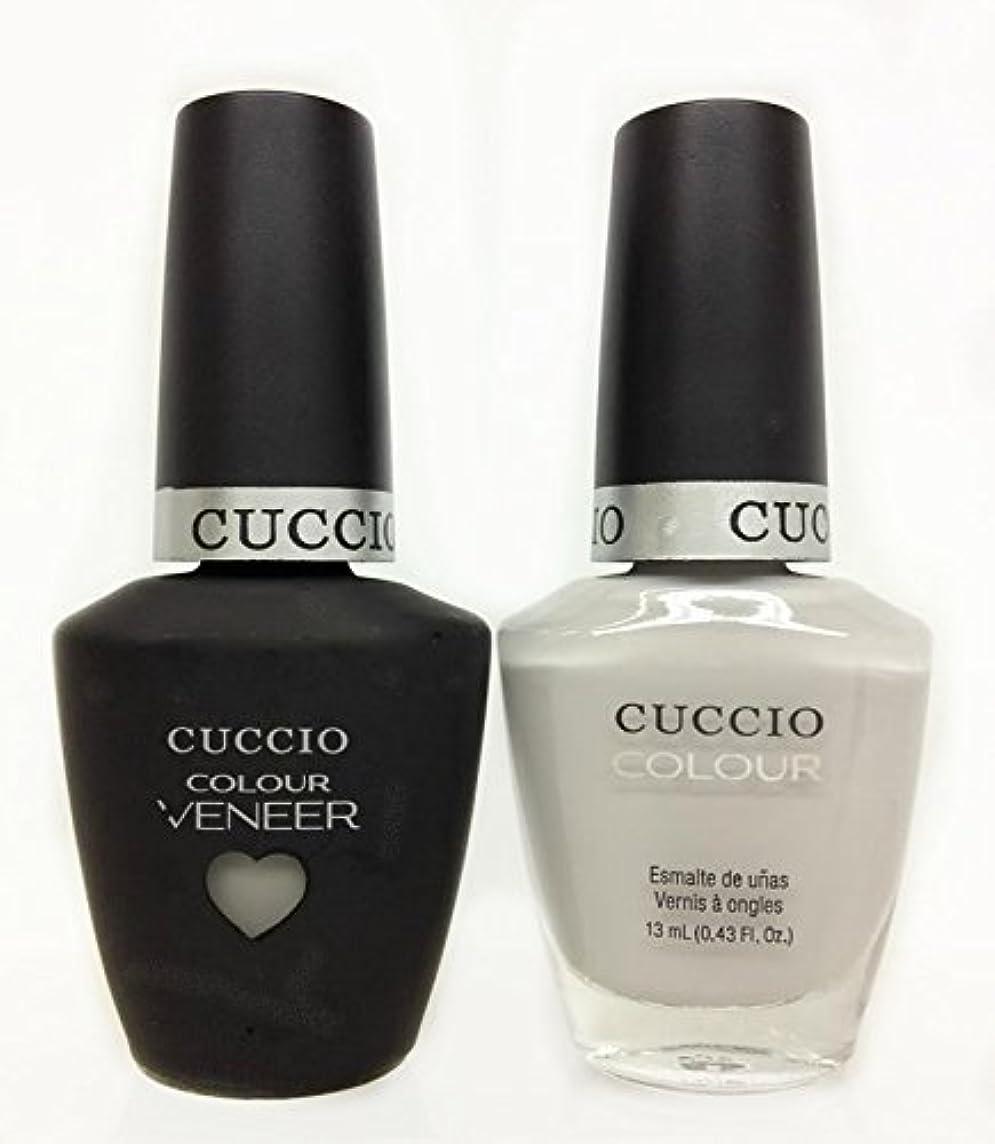 同盟潤滑するペットCuccio MatchMakers Veneer & Lacquer - Quick as a Bunny - 0.43oz / 13ml Each