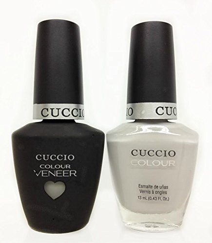 CUCCIO COLOUR - LED/UV Gel and Nail Lacquer DUO pack .5oz/15ml (6099 - Quick As Bunny) by Cuccio