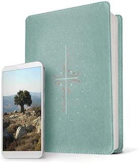 Filament Bible NLT (LeatherLike, Eucalyptus/Copper): The Print+Digital Bible