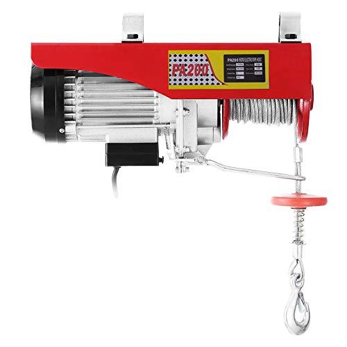 VEVOR 100KG/200KG Polipasto Eléctrico para Elevación, Cabestrante de Cable...