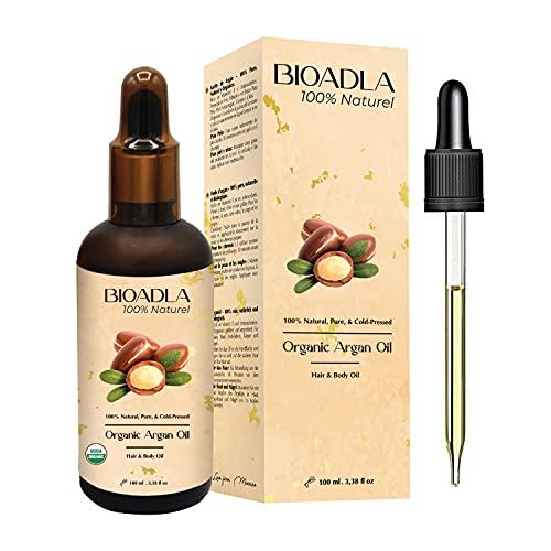 Aceite de Argán Orgánico, 100% Puro, Natural, Prensado en Frio | Cabello,...