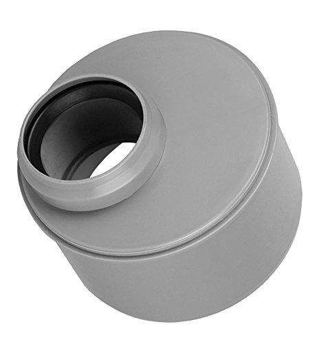 HT Rohrreduzierung Reduziermuffe Reduzierung Übergangsrohr 110/50 kurz