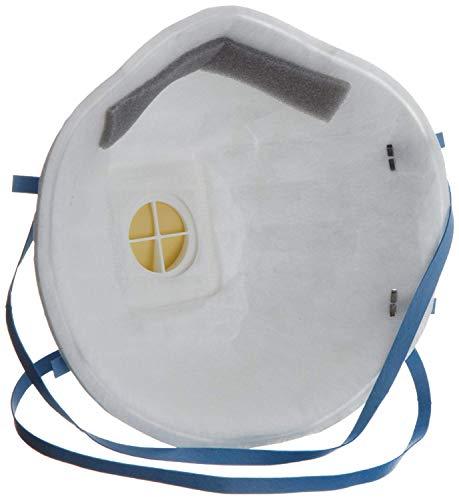 3M Marken Atemschutzmaske/Mundschutzmaske/Atemschutz Mundschutz Maske - Klasse FFP2 mit Ventil - Schutz vor giftigen Partikeln, Aerosolen, Baktieren und Viren - Partikelmaske - 2