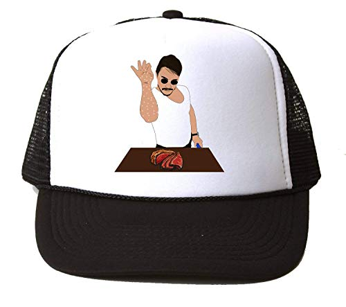 Nomorefamous Salt Man Bae Steak Baseball Cap Hat Gorra Unisex