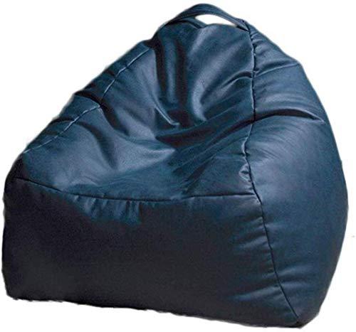 LXH-SH Sofá Perezoso Sofá Perezoso Epp con Volver Tatami algodón de Lino Bolsa Individual Habitación Sala Balcón Sofá Pequeña Silla de salón cómodo, Azul, Grande Sofá Lento ✅
