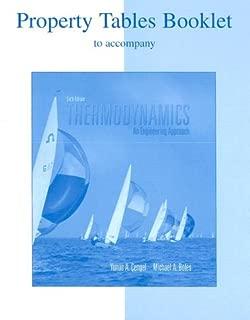 Property Tables Booklet/Thermodynamics