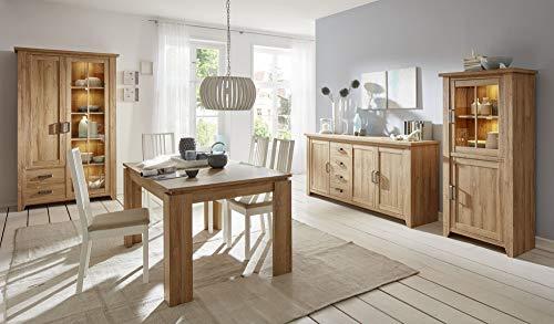 Newfurn eettafel tafel oude eiken eetkamertafel keukentafel Eettafel II 160x77x 90 cm (BxHxD)