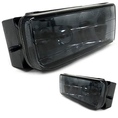 DM Autoteile Set Nebelscheinwerfer Schwarz Smoke Rauchglas passt für alle Typen E36 91-99
