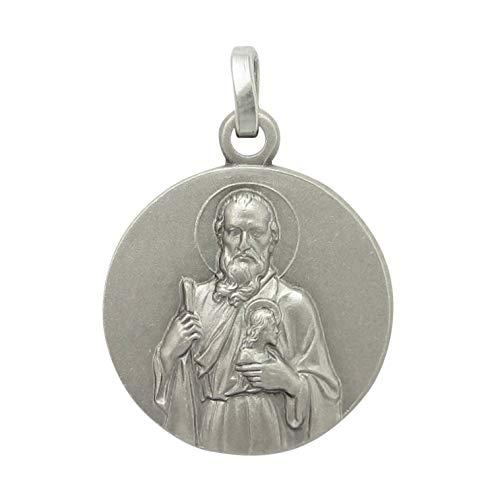 メダイ ペンダント 聖ユダ・タダイ シルバー925 イタリア製 コイン キリスト教 聖人 イタリア製