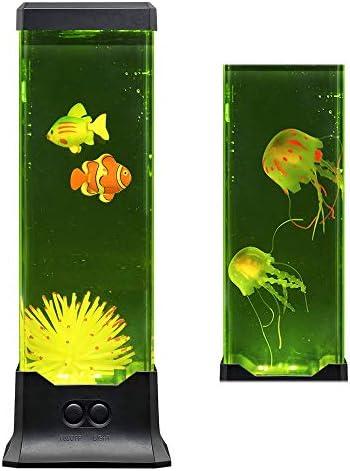Multi Color Electric LED Lava Night Lamp Fish Aquarium Mood Decorative Light Fantastic Holiday product image