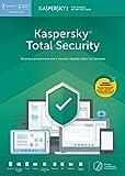 Kaspersky Total Security 2019 3 Dispositivi Codice d'attivazione via posta...