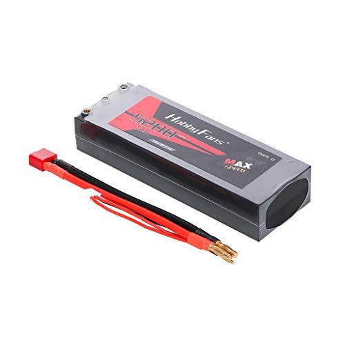 per HobbyFans2S Batteria Li-Po 7.4V 5200mAh 45C per 1:10 1:12 1: 8 per Traxxas HSP RC Car