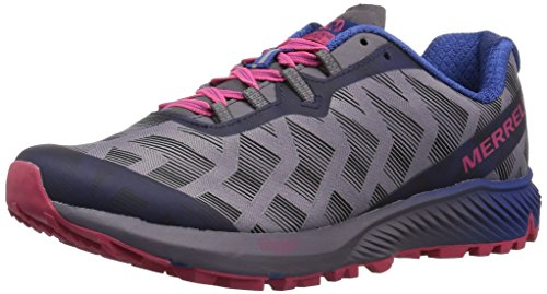 Merrell Women's Agility Synthesis Flex Trail Runner Shoe Sneaker, Shark, 9.5 M US