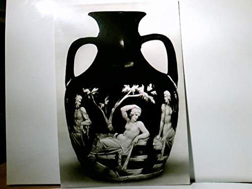 The British Museum. The Portland Vase. Peleus, Thetis and Aphrodite ?, AK s/w. Kunst, Kunstpostkarte, Griechische Mythologie