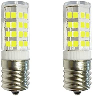 2 Bulbs E17 4W LED Bulb for Microwave Oven Under Microwave Stove Light 40W Equival Warm White product image