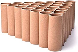 """30 Pack Craft Rolls - Brown Cardboard Tubes for DIY Crafts 