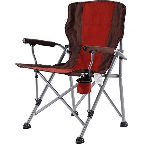 YAOHONG Colchonetas, sillas portátiles, Cojines, Patio Interior y Exterior terraza en el jardín, sillas Plegables de Cubierta Cómodo sillón reclinable (Color : A)