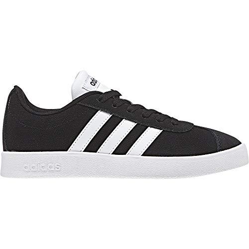 Adidas VL Court 2.0 K Db1827, Zapatillas Unisex Niños, Negro Negbas Ftwbla 000, 38 EU