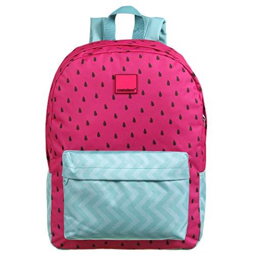 Mochila G Container Fashion Pink Melancia, Dermiwil, 37716, Rosa/Azul
