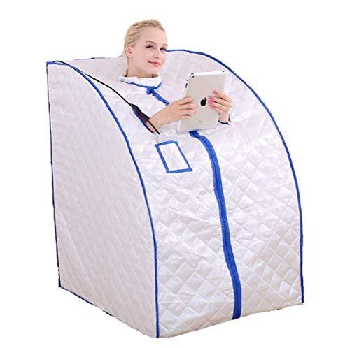 Productos para el hogar Cama plegable Easy Storage Portable Infrarrojos Home Spa |Sauna para una persona, vaporizador de sudor de 2 litros para quemar grasa, adelgazar, adelgazar, tratamiento de s