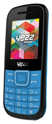 Yezz Yezz Bar Phone C21A Teléfono Móvil, Dual SIM, [Italia] Azul