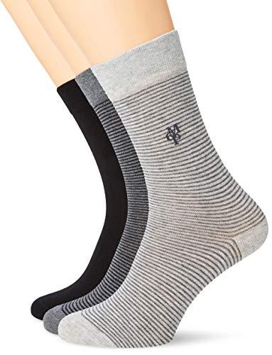 Marc O'Polo Body und Beach Damen W (3-PACK) Socken, Schwarz (Schwarz 000), 35/38 (Herstellergröße: 400) (3er Pack)
