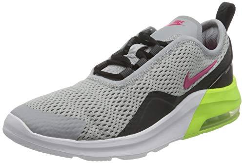 Nike Air Max Motion 2 (GS), Scarpe da Atletica Leggera, Multicolore (Wolf Grey/Rush Pink/Anthracite/Black 000), 36.5 EU