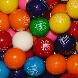 Dubble Bubble Assorted 24mm Gumballs 1 Inch, 3 Pounds Approximately 165 Gum Balls Approximately 165 Gumballs