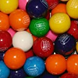Dubble Bubble Assorted 24mm Gumballs 1 Inch, 3 Pounds Approximately 165 Gumballs
