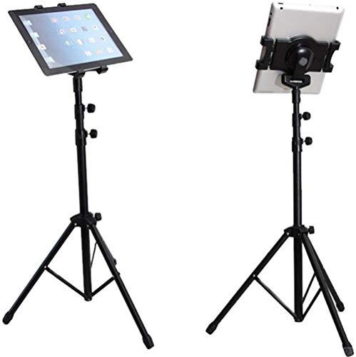 Trillingsvrij 360 ° verstelbare statiefbevestiging 1/4-20 adapter, HDX-lock houder voor Air Mini Galaxy Tab 7-10 inch tablets (past op alle hoesjes)